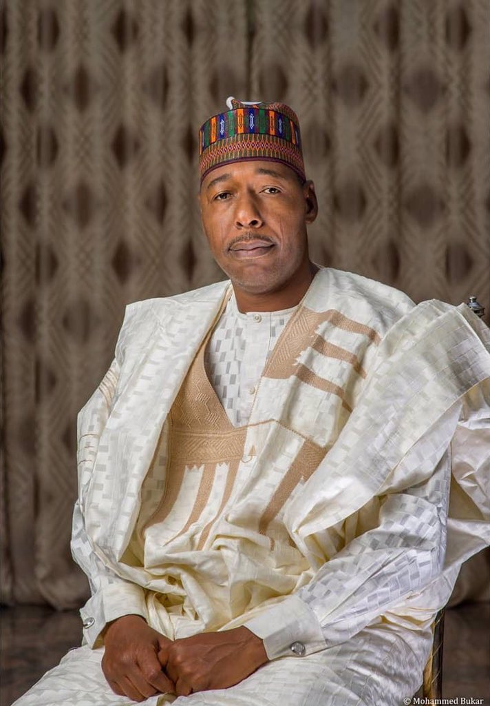 Governor Babagana Zulum  engages 28 Borno communities achieve food security